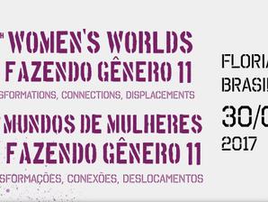 Divulgação: 13º Mundo de Mulheres e Fazendo Gênero 11