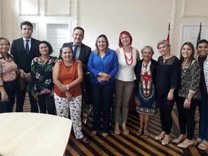 SEJUDH debate ações de fortalecimento dos direitos da mulher em Belém