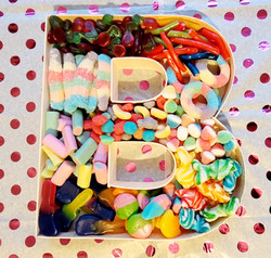 Fillable Sweet Letters