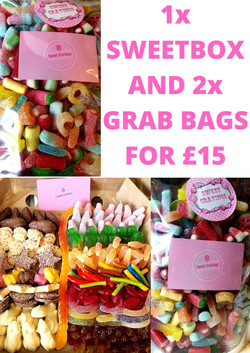 Sweet Box and Grab Bags