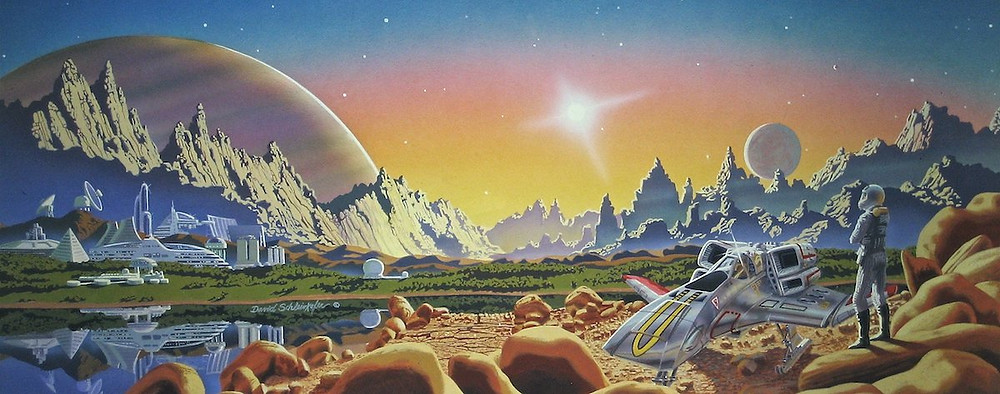 What does science fiction mean? What is science fiction?