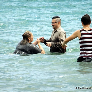 Baptisms in Lake Huron