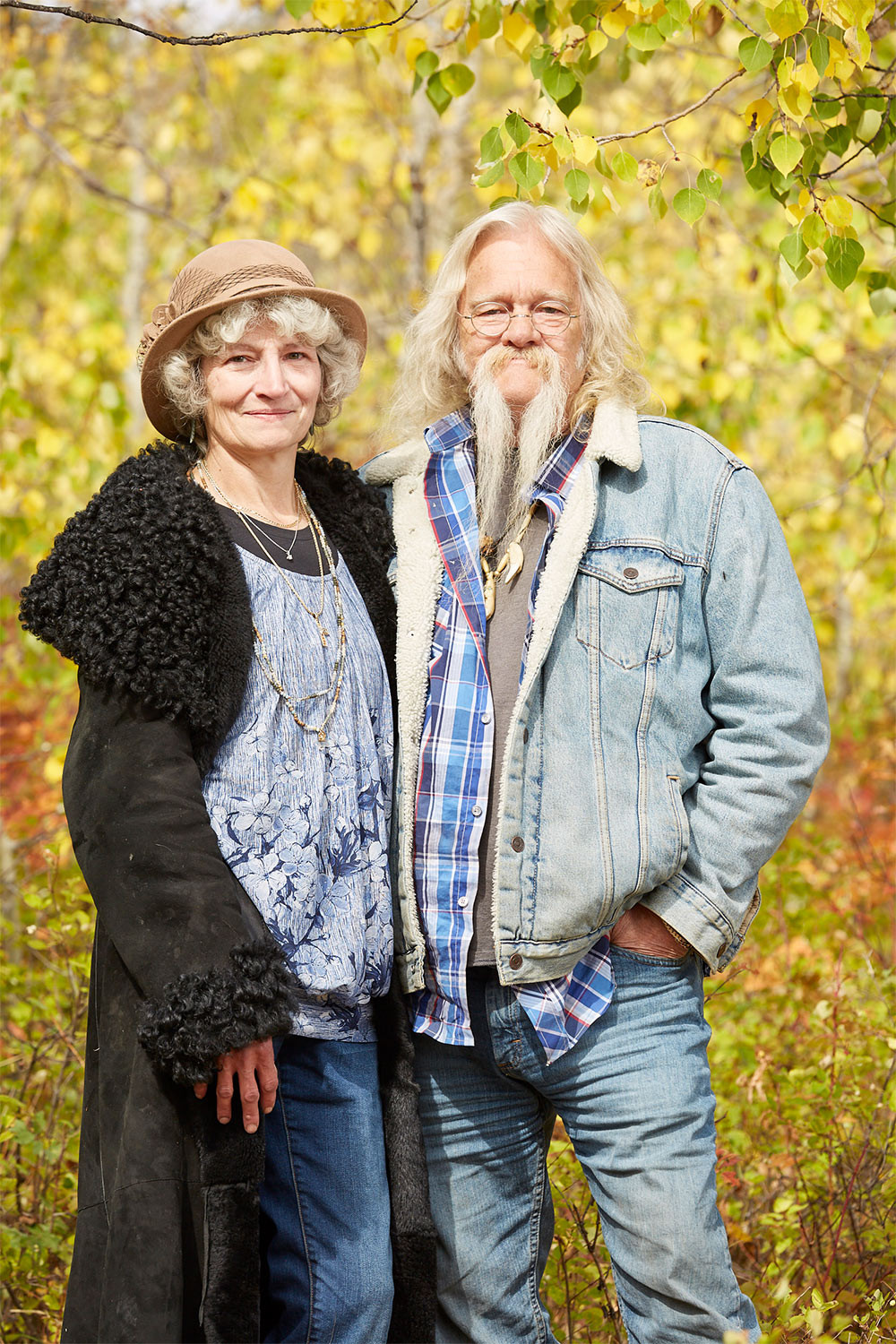 Billy and Ami Brown of The Alaskan Bush People on Discovery