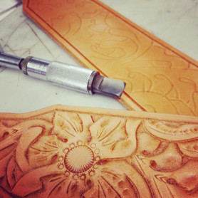 Hand Carved and Hand Tooled Beauty
