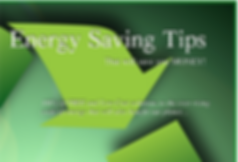 Energy Saving Tips that will save you money