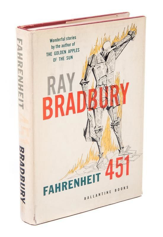 Fahrenheit 451 by Ray Bradbury: Book Review by Author B. A. Shields