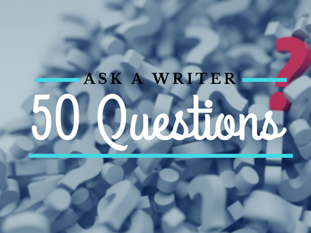 50 Questions to ask the Author