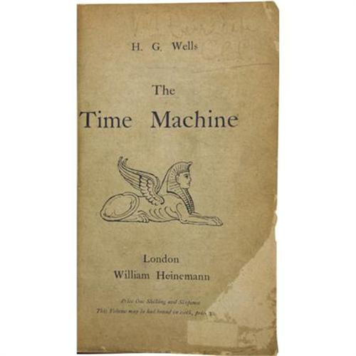 H. G. Wells - The Time Machine - First Edition