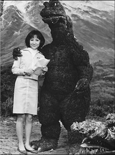 First Godzilla movie set