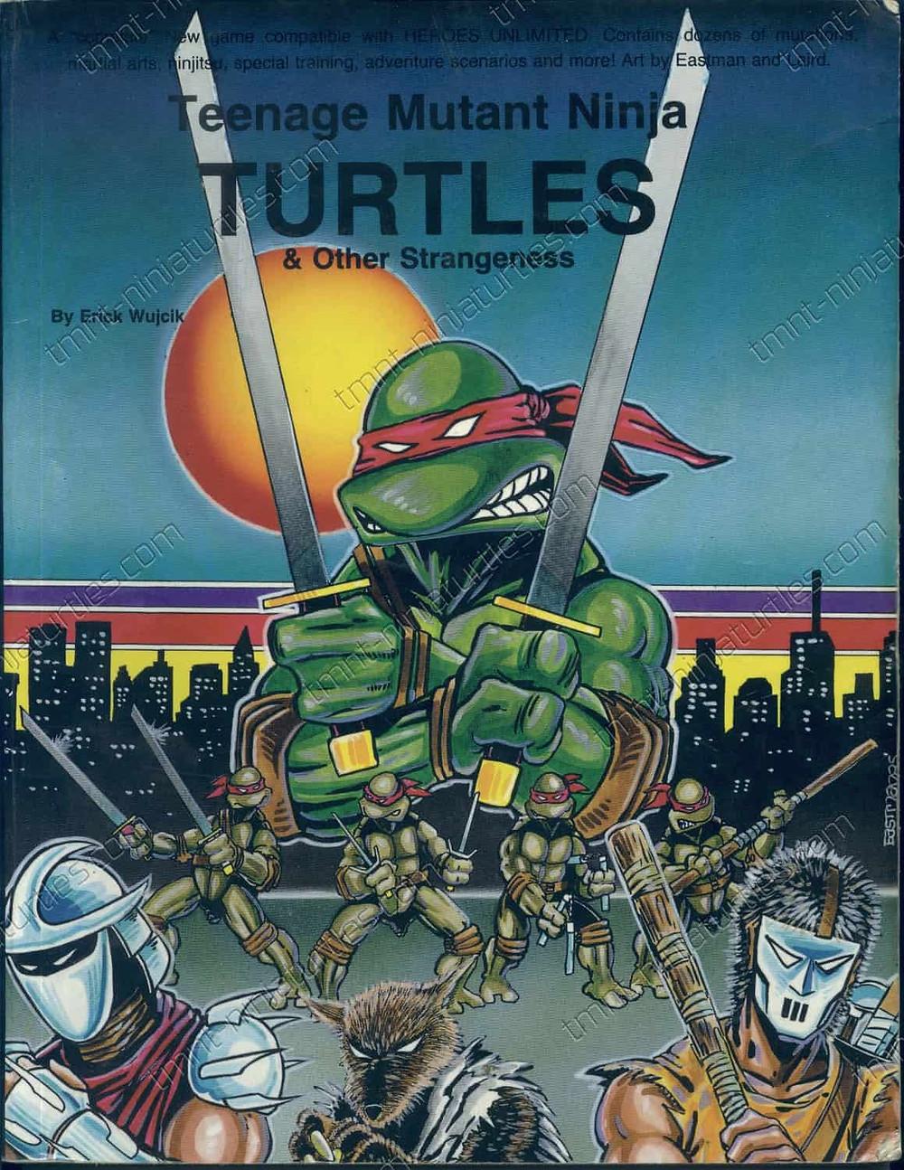 Teenage mutant Ninja Turtles RPG available at Palladium