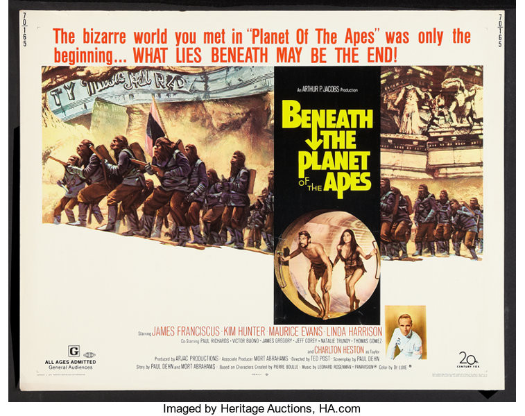 Beneath the Planet of the Apes - Author's Blog by Author Bruce A. Shields