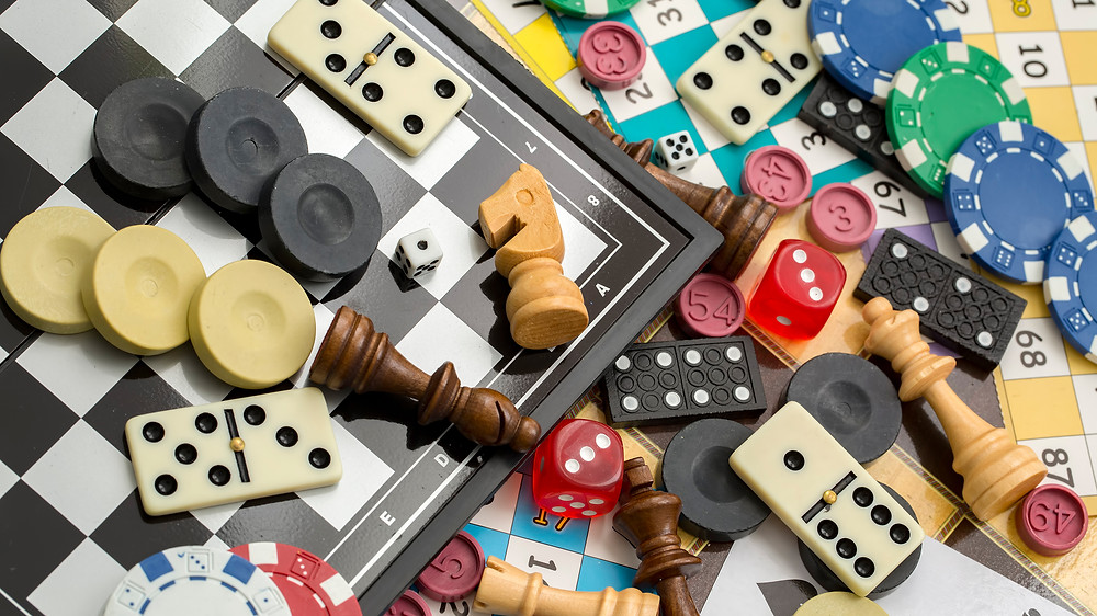 Various board games for all to play!