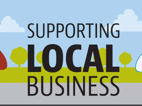 Hire Locally, Small Business, or Do-It-Yourself with Friends!
