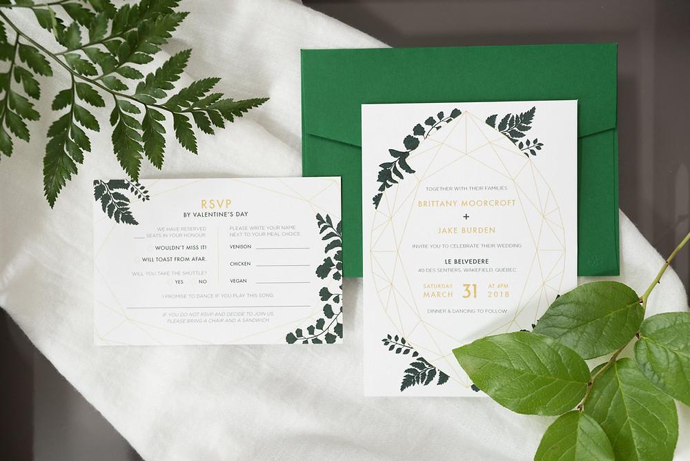 Wishtree Invitations & Design Inc. | Anne-Marie Bouchard Photography