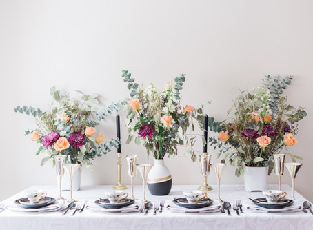 Tips for Designing the Perfect Tablescape