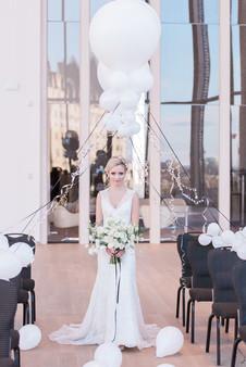 Balloon ceremony arch