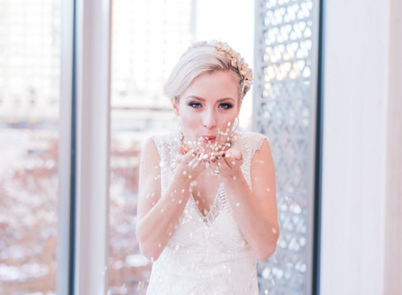 The Perfect New Year's Glam Wedding