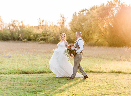 Intimate Autumn Wedding at The Herb Garden in Almonte