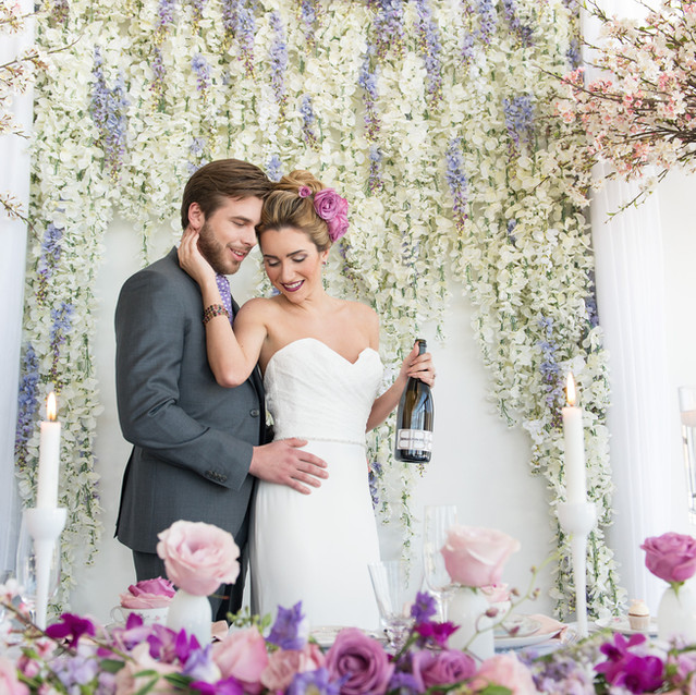 Wild Bloom Styled Wedding Shoot by Love is Love - Ottawa Weddings & Events