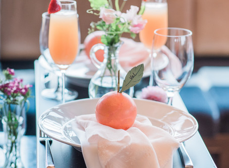 Southern Peach Inspired Baby Shower... for me!