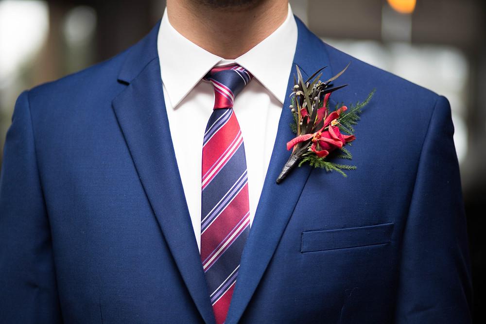 Royal Blue Men's Suit