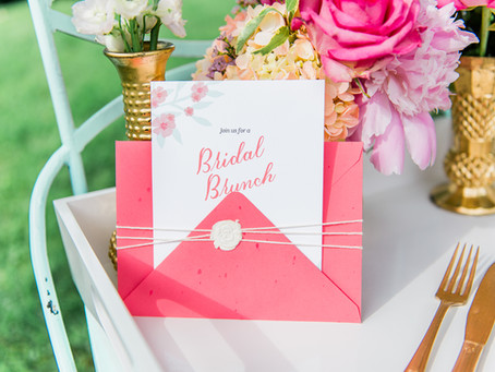 Southern Inspired Outdoor Bridal Shower in Spring Pastels
