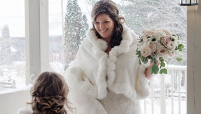 Blush Winter Wedding at Strathmere