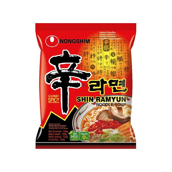 NongShim Shin Ramyeon 120g (Spicy Instant Noodle)