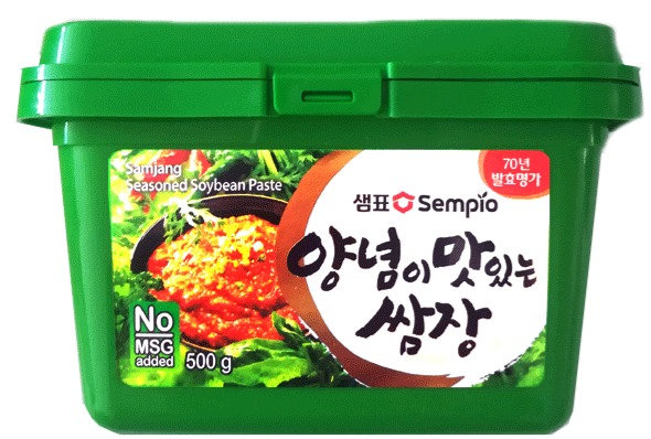Sempio Ssamjang (Seasoned Soybean Paste) 500g