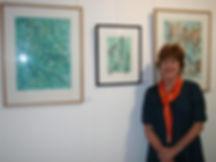Susan Hall Artist Printmaker Painter Environmentalist textile studio teacher