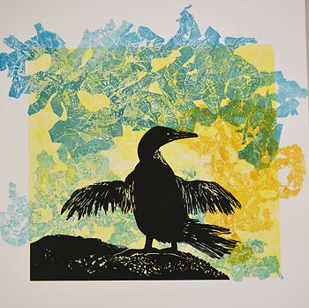 Susan Hall Artist Printmaker Painter Environmentalist textile studio teacher