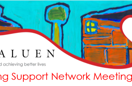 Housing Support Network Meeting - 2nd May, 2019