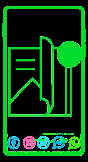 telefono verde iconos y revista.png