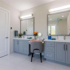 Custom Washroom Vanity