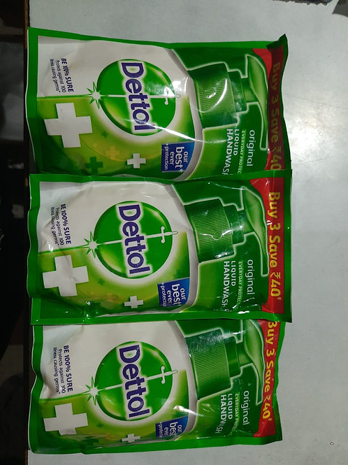 Dettol handwash pack of 3 @134