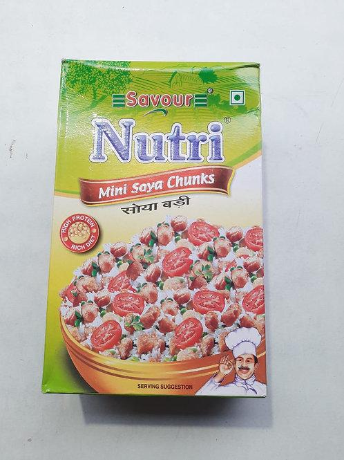 Savour Nutri mini soya chunks 200gm MRP 45