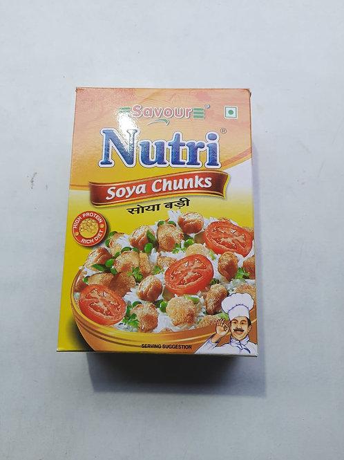 Savour Nutri soya chunks 200gm MRP 45