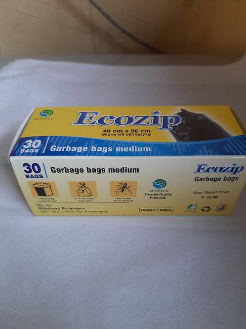 Ecozip Dustbin bags Mrp-75
