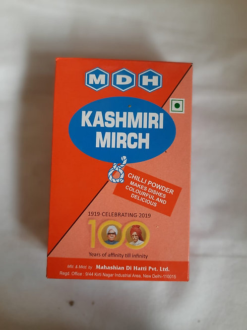 MDH kashmiri mirch 100gm mrp 58