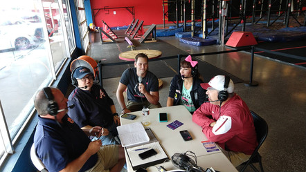 Justin Moore, Maggi Thorne--Ninja Obstacle Academy athletic director, American Ninja Warrior competitor