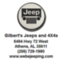 Gilbert's Jeeps and 4X4s