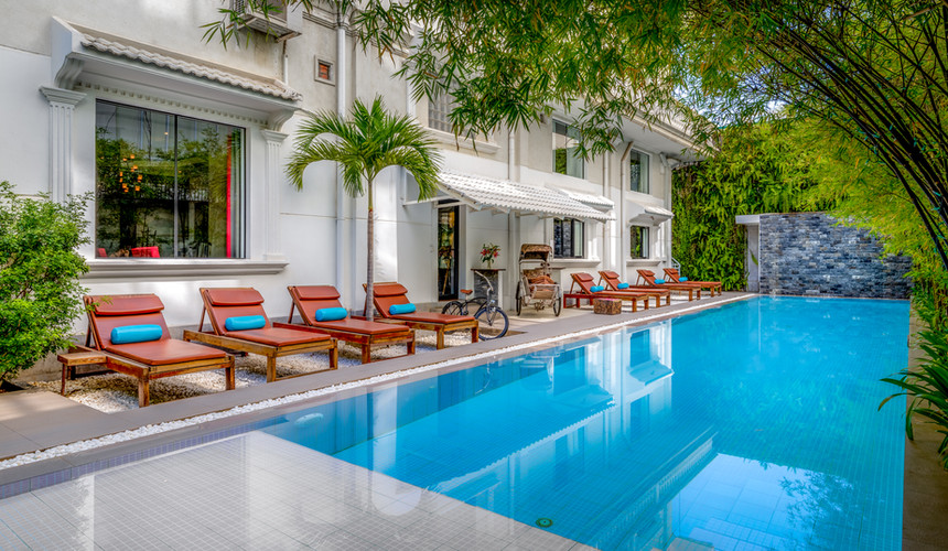 White Mansion Boutique Hotel, Phnom Penh Cambodia