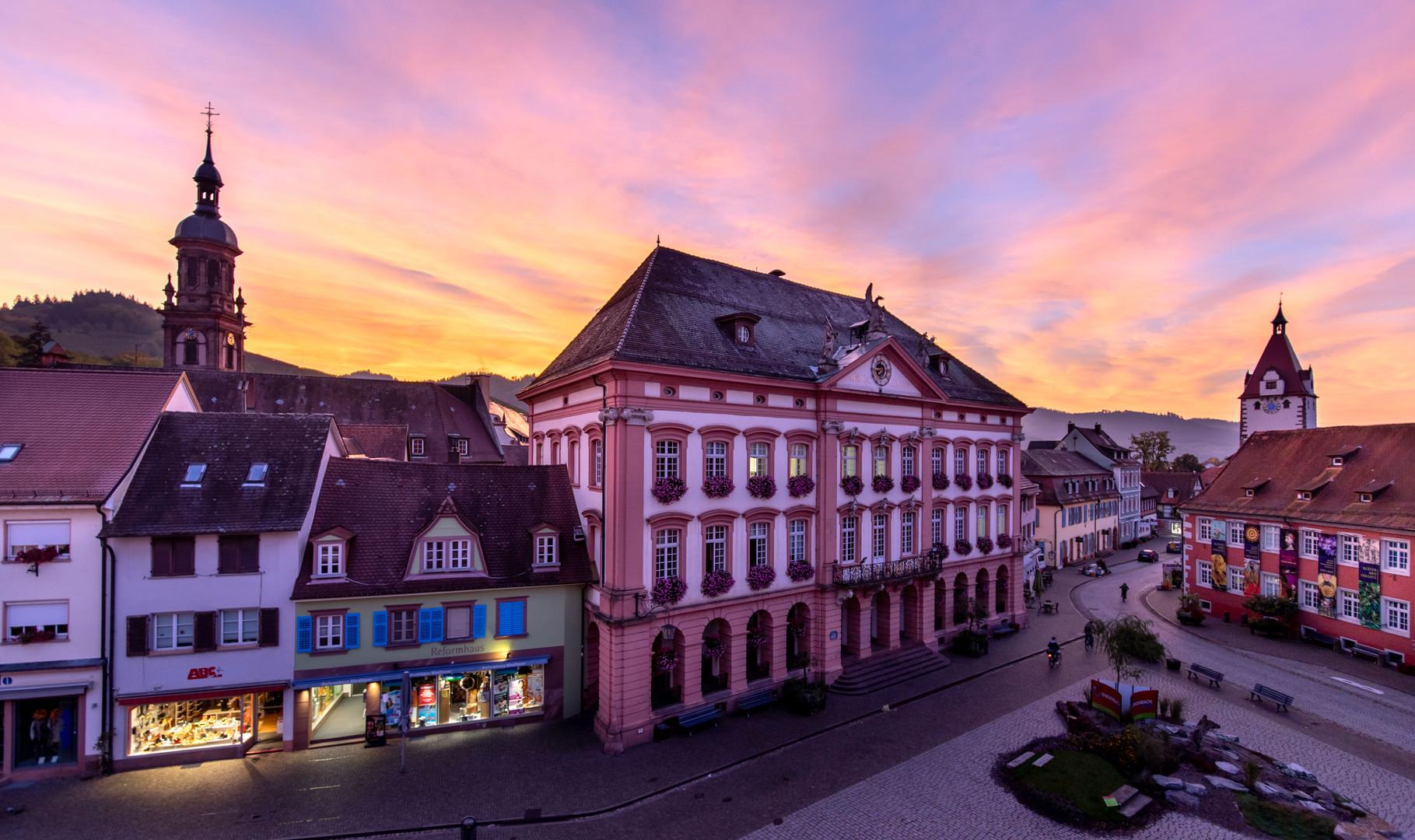 Sunset in Gengenbach