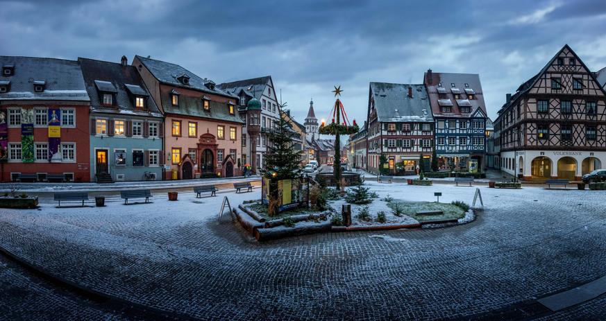 Snow in Gengenbach