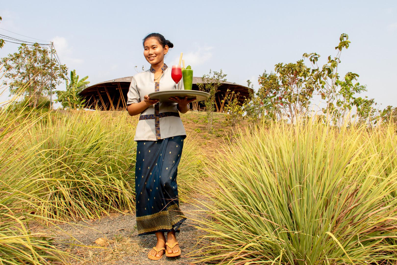 Hanchey Bamboo Resort, Kampong Cham Cambodia