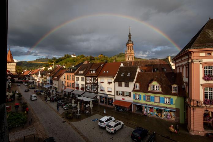 Rainbow in Gengenbach