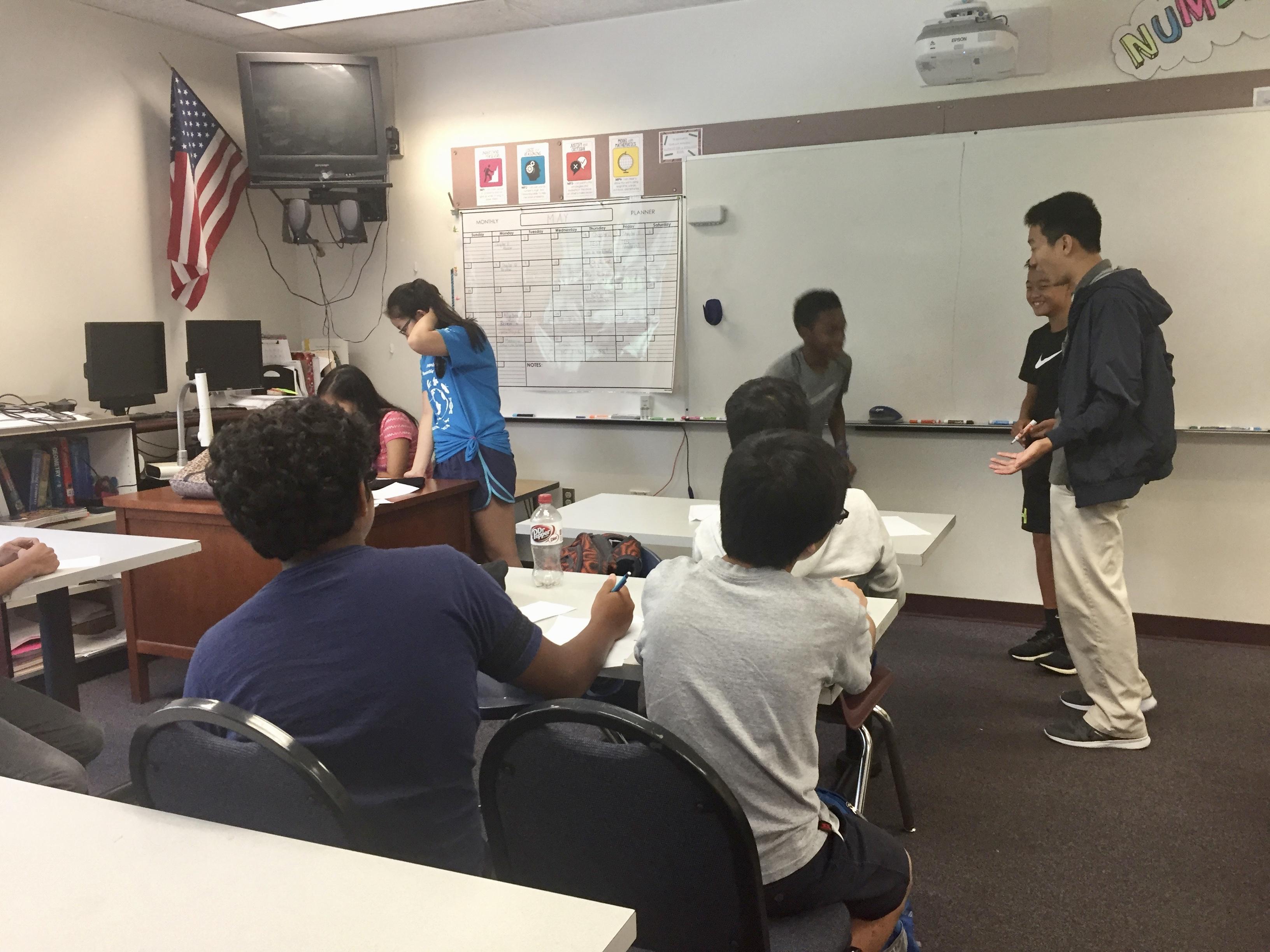 Community Outreach   Buchholz Math Team