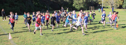 year 3 Boys Start of race