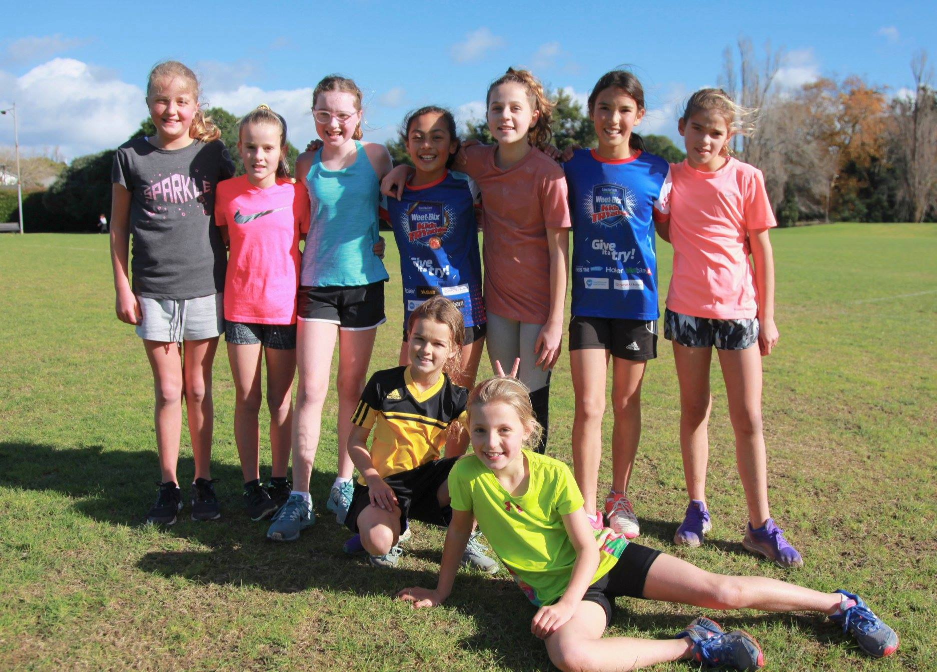 Year 6 Girls group