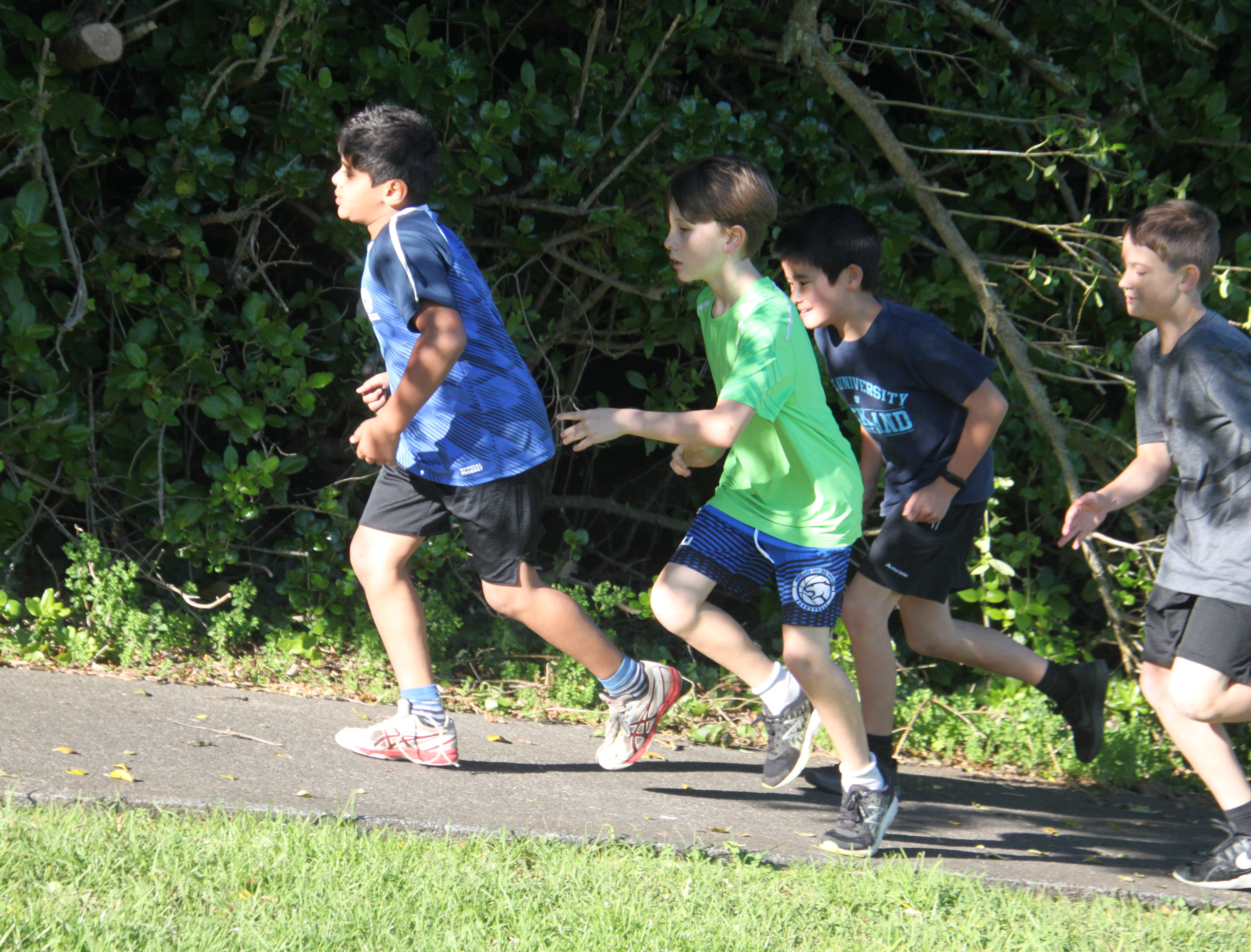 Boys Challenge races 2